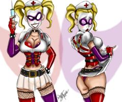 Doctor Harley Quinn by Oddmachine