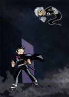 Raidou vs. Danny by Stumppa