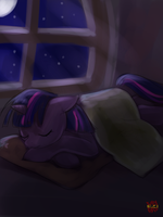 Sleeping Twi by norang94