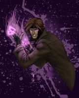 Marcus To's Gambit colored by JoeyVazquez