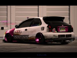 Honda Civic Crazywagon by MarlboroDesign