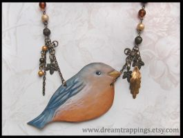 Little Finch Necklace SOLD by natamon