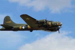 B-17 Flying Fortress Sally B by Greattie
