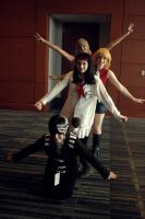 Death me Liz and Patty by RavelynxHorror