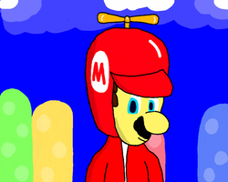 Propeller Mario by DragonQuestWes