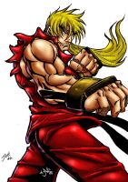 Ken Masters Colored by jam1mc
