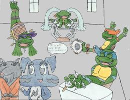 Tickle Turtles by Lu-1