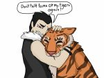 Greed loves his tigers by Artdirector123