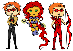Jason Todd and the Outlaws by NoWhereKid107