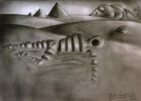 surreal drawing by tinchoc1
