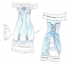 Ciel Phantomhive Dress Blue by rocksanie