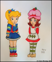 Peach + Daisy: 80's Cosplay by Sweet-Blessings