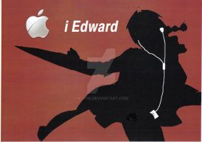 PhotoShop ED IPOD AD by k-h116