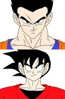 Father Vs. Son Rematch by dbzlover135