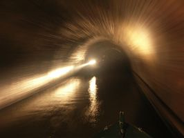 in a canal tunnel by deangibbs