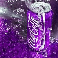 Coca Cola in the Purle by SaphoPhotographics