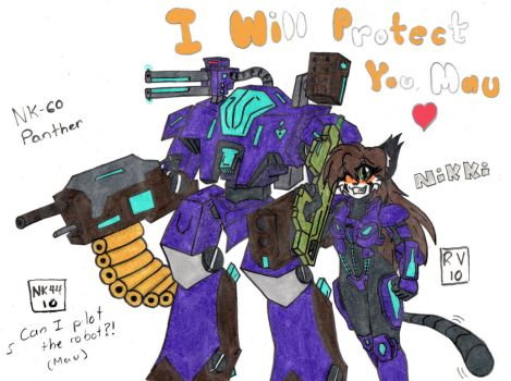 I Will Protect You, Mau by Nikki-and-Mau