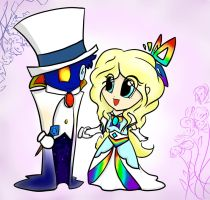 Lord Blumiere and Lady Timpani (Chiby Version) by DebbyGattaTheBest