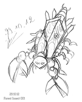 [Sketch] Robo Forest Insect 0001 by etershine
