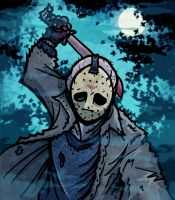 Horror Fest - Jason Voorhees by Gil-ED