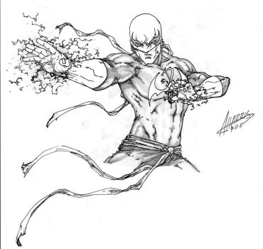 Iron Fist by anthonyharrisart