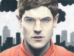 Misfits Simon Bellamy - Iwan Rheon by ArtsyKD13