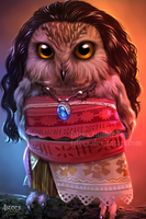 Disney Owls: Moawla by 4steex