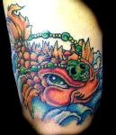 Koi Fish Tattoo by Hollywood465599663
