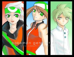 Pokemon Generation III: R-S-E by tersinc
