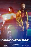 Need for Speed movie poster by DComp