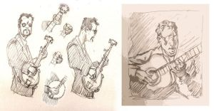 Musicians - animation tests by hesir