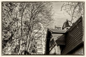 In the footsteps of old Gdansk townhouses 9 by wiwaldi24