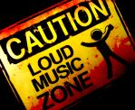 CAUTION: LOUD MUSIC by RainingBlackStars