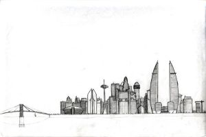 The city by Engorn