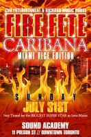 Fire Fete Caribana Flyer by AnotherBcreation