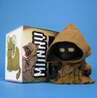 Jawa Star wars MUNNY custom by ibentmywookiee