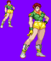 Sprite Work: Sabrina Swift by SXGodzilla