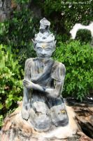 Temple Statue by Albino-From-Abouut