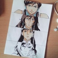 WIP Korra 3 by SnitchWing