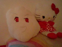 Prussia Moshi and Hello Kitty by DaveXStrider