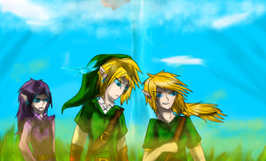 Hyrule Field by MidnightDash2137