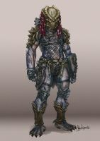 Predator Concept - Red Head by Diovega