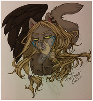 Norway Warrior Cat by TheFawnFlying