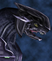 """Half-Jaw"" by halo-fans"