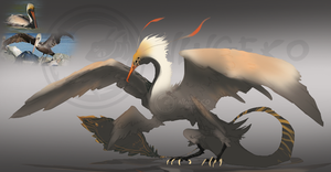 Daily Sketch Jam 25/06/14 Pelican Drake (Closed) by Ningeko16