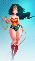 wonder woman by Diaff