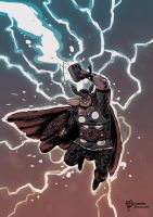 THOR, Son of Thunder by TheWoodenKing