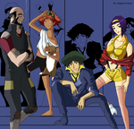 The Bebop Crew by KUNGPOW333