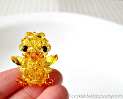 Sparkly Ducks Come in Small Sizes by SparkleMeHappy