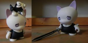 Crona and Ragnarok Dunny by Kaeldri